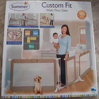 Summer baby gate section