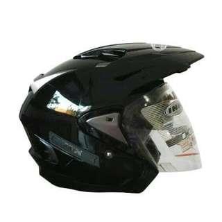 Helm Ink T max hitam ukuran L