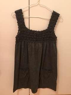 灰色吊帶娃娃上衣 #newbieFeb19