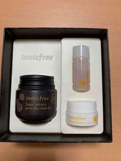 Limited Edition Innisfree Super Volcanic Pore Clay Mask Exclusive Set