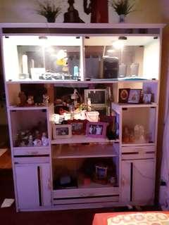 Elegant Display cabinet with lights