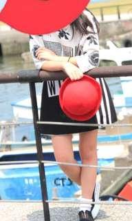 🚚 紅色挺版小紅圓帽