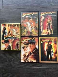 DVD- Indiana Jones The Complete Adventure Collection (4 🎥)
