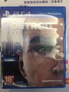 PS4 全新 new 變人 底特律 become human Detroit 中文  中文版 中英文合版