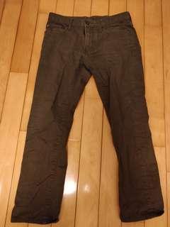 Miltary Dark Green Jeans