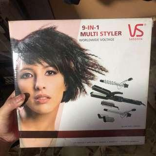 VS Sassoon 9-In-1 Multi Styler