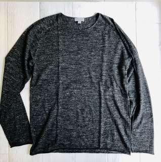 COS Marled Grey Light Pullover Sweater