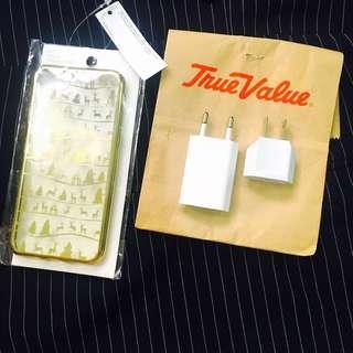 Bundle Apple Adaptor & case