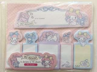🚚 My melody post it label tab