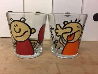 🚚 可愛圖案玻璃杯