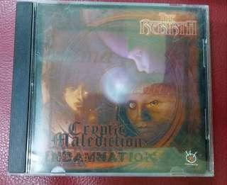 Cd Cryptic Malediction split Indamnation