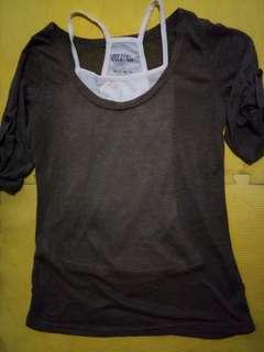 Blouse with inner