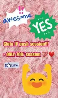 GLUTA IV SESSION