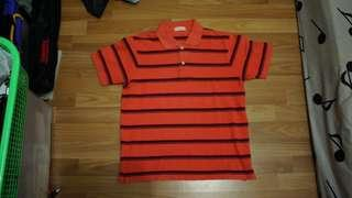 Polo Striped Kaos Kerah
