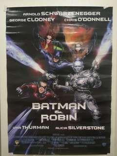 🚚 Batman & Robin Poster