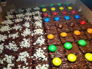 🚚 Chocolate fudge Brownies