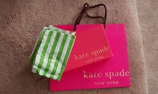 AUTHENTIC Kate Spade wallet box, paper bag and wrappers (medium)