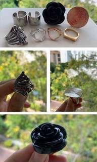 Various Rings - Jewellery / Accessories