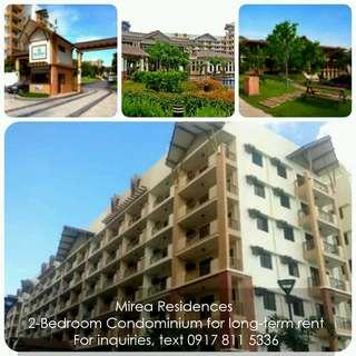 2BR 63.5sqm  Condo in Pasig for Long-Term Rent