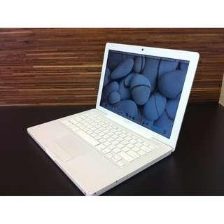 """Apple 13"""" Macbook White + MS Office + NEW BATTERY !"""