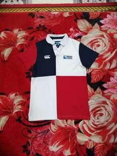 2015 Canterbury harlequin world cup polo shirt