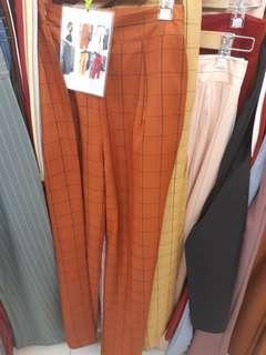 Long Kulot pants ala celana artis😍 panjang sampai bawah mata kaki /barang import bangkok