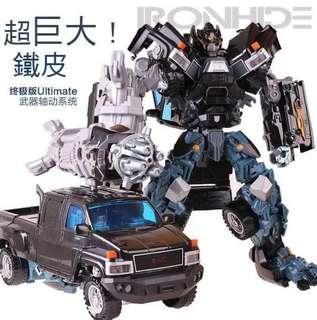 Transformers 鐵皮 KO放大版