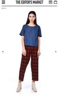 The Editor's Market Biba Loose-Fit Trousers