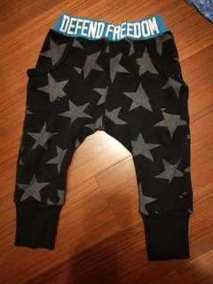 🚚 【五零方案】大星星束腳長褲