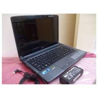 """Blue Acer 14"""" Gaming/Work/Entertainment Laptop + MS Office + NEW BATTERY"""