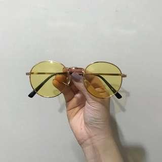 🚚 黃色太陽眼鏡