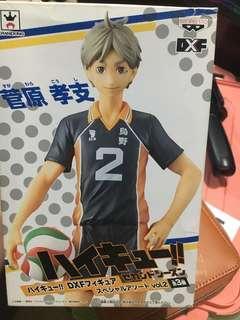 Haikyuu Sugawara Koushi Banpresto figure