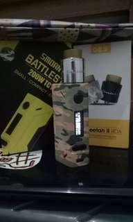Battlestar Camo + RDA Cheetah II
