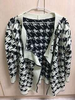 千鳥紋罩衫外套