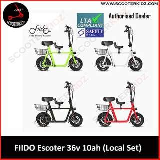 Fiido Electric Scooter Full Set (Child Seat+Basket) LTA Compliant