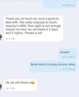 MBS HOTEL- REVIEWS !!!