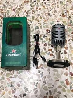 喇叭-Heineken
