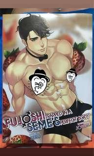 BL/Yaoi Fujoshi Trapped in a Seme's Perfect Body Volumes 1, 2, 3