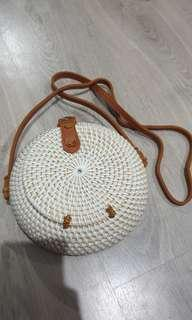 Round Bag - White NEW