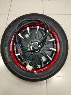"""12""""60v 3000w w/ original GMD all condition tire 120/70-12"""