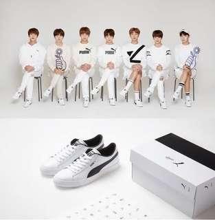 BTS x PUMA shoes