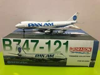 飛機模型 1:400 泛美航空 B747