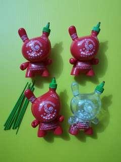 "3"" Sketracha Dunny by Kidrobot"