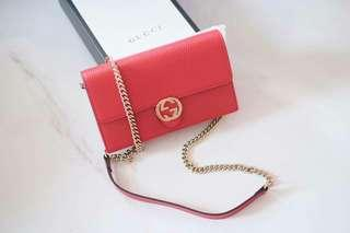 Ready gucci Woc red