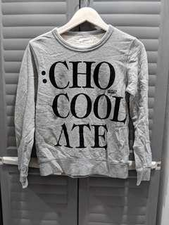 Vintage White Chocoolate Grey Pullover (almost new)