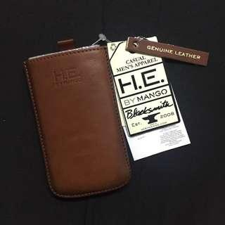 🆕 iPhone 5 / 5s Leather Case HE by Mango