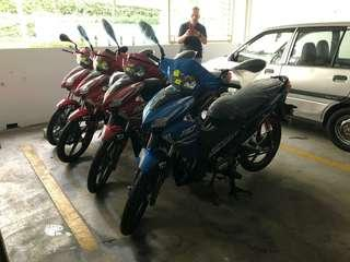 Special Plate Number (YA & YC) come with Motocycle