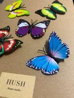 🚚 3D Simulated Butterfly with Pin