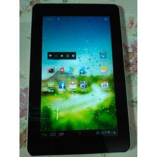 HUAWEI MediaPad 7 Lite 華為 7吋 8GB 平板電腦,除電話功能故障,其餘功能正常,只賣1100元