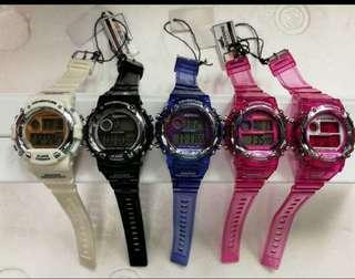 Unisex waterproof watch